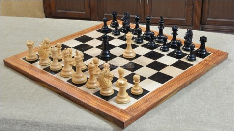 Chessboard with Opening Move